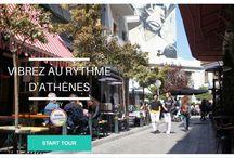Visiter Athènes autrement / Grâce à notre appli sur smartphone vous pouvez visiter Athenes avec votre téléphone pour pas cher. Audioguide et visite multimédia.