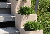 Les poteries jardin / Poterie en terre cuite : terre naturelle, terre grise, terre blanche
