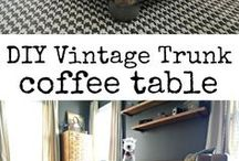 Decorate: Trunk Coffee Table