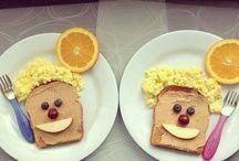 food art children
