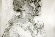 Portraits art