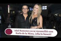 Adal Ramones ya se reconcilió con Karla de la Mora, ¡ella lo buscó!