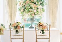 Chair decor - garlands and other