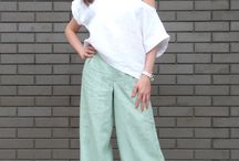 Clothing made from natural materials / Linen Clothing