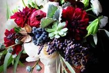 Privet Berries Wedding Flowers / Learn how to make your own bridal bouquets, wedding corsages, groom boutonnieres, reception hall centerpieces and church decorations.  Buy wholesale flowers and discount florist supplies.