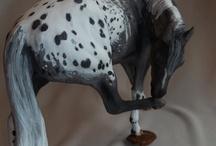Modell hästar