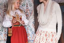 Scandinavian folk inspiration