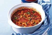 Casseroles, Cacciatore and Con Carne / Tomato & meet anyone ok some beans are involved
