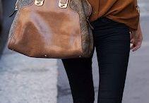 chic black & brown