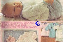 livres tricots bebes