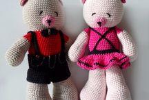 crochet and knit free pattern / DIY, craft, crochet, knitting, share pattern