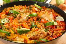 recepty kurča