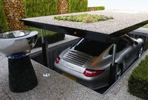 Space saver under ground garage/ hydraulics at work used something similar before for 40 cars