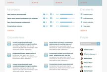 Intranet examples / Intranet and dashboard examples and inspiration.