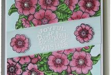 My Power Poppy Stamps Creations / My Cards and other Creations with Power Poppy Stamps