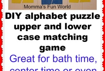 Alphabet Ideas for Learning Letters