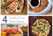 Tried And True Dinner Recipes