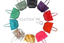 Clutch Me by Q / Clutch Me by Q (CMQ) features designer-looking, competitively priced bags. The collection features contemporary designs like foldover clutches, envelopes, wristlets and pouches; and aims to deliver both form and function in each and every design. We experiment with ergonomic shapes and off-beat design treatments in our bid to create a signature Clutch Me by Q design DNA.