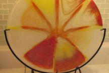 Fused glass / Szkło artystyczne