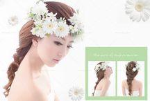 韓風造型_Korean hairstyles / #Weddings #Weddingsphotography #Hairstyle http://molding.wswed.com/molding_home/hair.html
