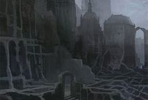 Shechem / Ruins, Fog, Plague Fiction, Solitude, The Quest