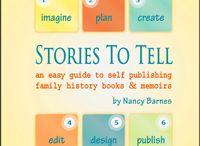 Write Family History - Website / by Anita Brown Bennett