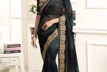 Best Designer Saree collections from Jagoeve.com / Trendy and stylish collection of designer wear sarees. Shop from www.jagoeve.com