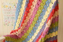 Nice crochet blanket