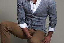 Cardigan pantalons / Look