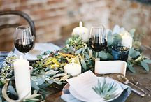 TABLESCAPE / Tischdekoration, table decoration