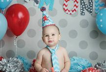 mac's 1st birthday. / by Lyndi