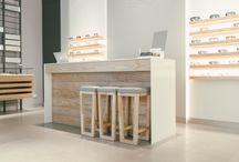 Optic shop design