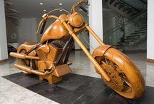 Sculpure auto / motor