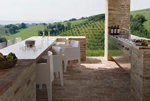 Outdoor spaces / Garden structure design inspirations