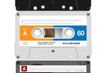 Audio cassette tapes / Homage to old audio tape cassettes