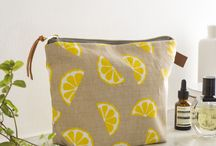 The Wash Bag Era / So, wash bags, all found at www.jennysibthorp.com and all remarkably functional yet beautiful, with a waterproof lining and everything.  World wide shipping available too :)
