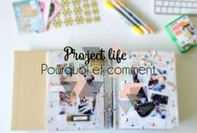 Scrapbooking et Project life