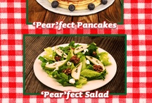 """""""Pear""""fection / A board dedicated to all things Pear! Recipes, tips and tricks for ultimate pear-fection / by Del Monte Brand"""