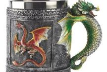 Gift ideas for Game of Thrones Fans / If you love the Game of Thrones you'll be amazed at the amount of merchandise out there for gifts. Here are great ideas for your friends, or for yourself. I just love the the tankards and goblets, but there are so many other gift ideas as well.