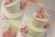 Annin Juhlapalvelu / Ristiäiskakku / Nimiäiskakku / Christening cake