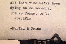 Marisa B Crane / http://marisabcrane.com/ https://instagram.com/marisa_crane/ http://www.underwatermountains.com/marisacrane