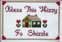 Cross Stitch / I promise I'm not actually 70 years old