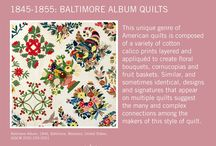 Quilt Timeline / A glimpse at important moments in the history of quiltmaking.