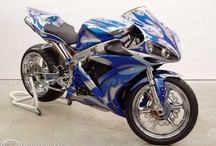 Motorbikes.