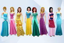 Los Sims 4 Disney Princesas