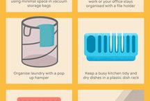 Clean & Tidy / Hacks to keep everything clean & organized!