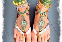 Hippie feet