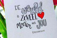Handwritting Nederlands