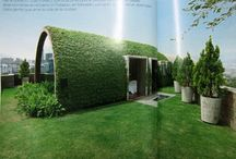 //Green roof / Design Inspiration for extending greenery to otherwise wasted rooftop spaces