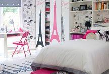 Lara: / Quarto  Banheiro  Papel de parede de Pariz